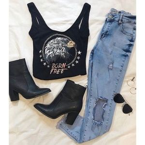 Showpo Born Free Cropped Tank